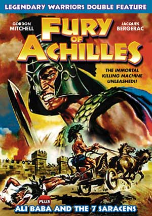 Fury Of Achilles (1962) / Ali Baba Legendary Warriors Double Feature DVD