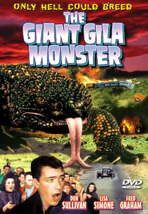 Giant Gila Monster Alpha DVD