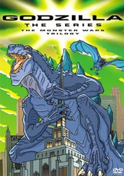 Godzilla Animated The Series Monster Wars DVD