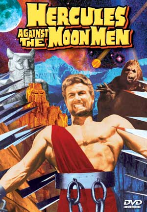 Hercules Against The Moon Men DVD