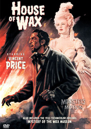 House Of Wax 1953 DVD Vincent Price