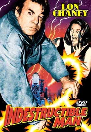 Indestructible Man Alpha DVD