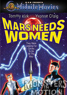 Mars Needs Women DVD (Midnite Movies)
