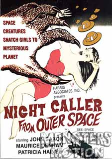 Night Caller From Outer Space DVD