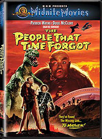 People That Time Forgot, The DVD