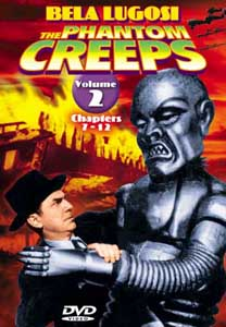 Phantom Creeps Vol 2 DVD