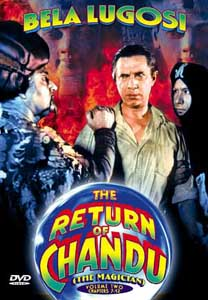 Return Of Chandu Vol #2 DVD