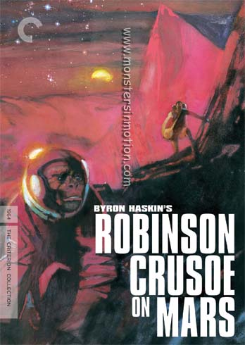 Robinson Crusoe On Mars Criterion Remasterered DVD