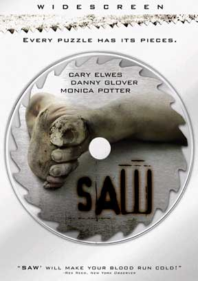 Saw Widescreen DVD James Wan