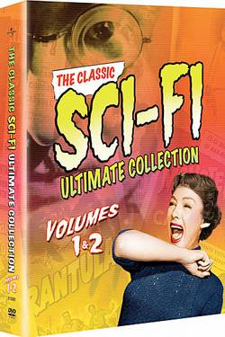 Classic Sci-Fi Ultimate Collection 1 & 2 Tarantula,The Mole People, Incredible Shrinking Man, Monolith Monsters,Monster on the Campus,Dr. Cyclops, Cult of the Cobra,Land Unknown, Deadly Mantis,Leech W