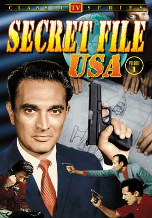 Secret File USA Classic TV Series DVD Arthur Dreifuss