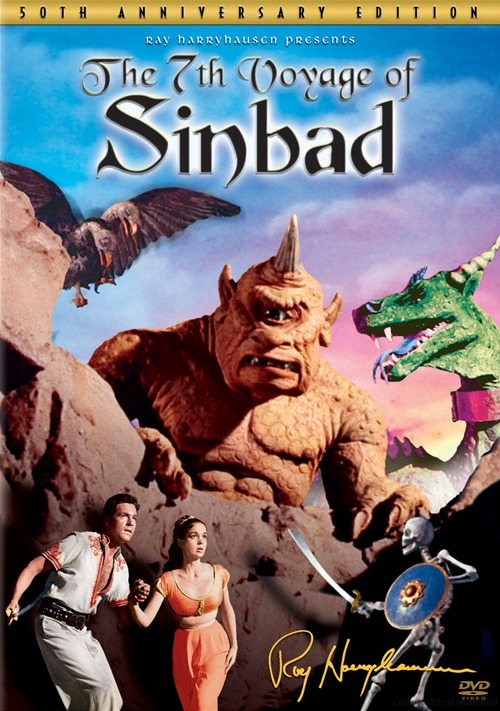 7th Voyage Of Sinbad 50th Anniversary Edition Widescreen DVD