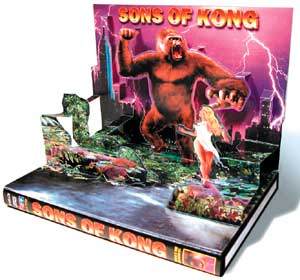Sons Of Kong 3 Disc DVD Set