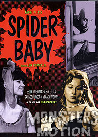 Spider Baby Special Edition DVD