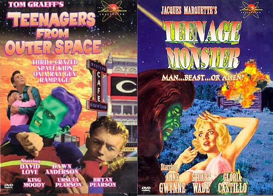 Teenage Monster / Teenagers From Outer Space DVD 2 Pak
