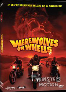 Werewolves On Wheels DVD