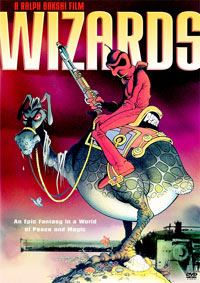 Wizards (1977) Animated Film DVD