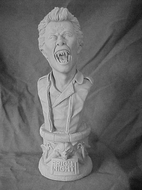 Fright Night Evil Ed 1/4 Scale Bust Model Kit
