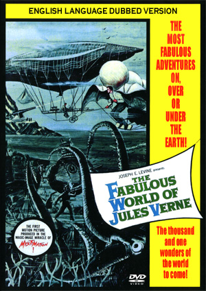 Fabulous World Of Jules Verne 1958 DVD