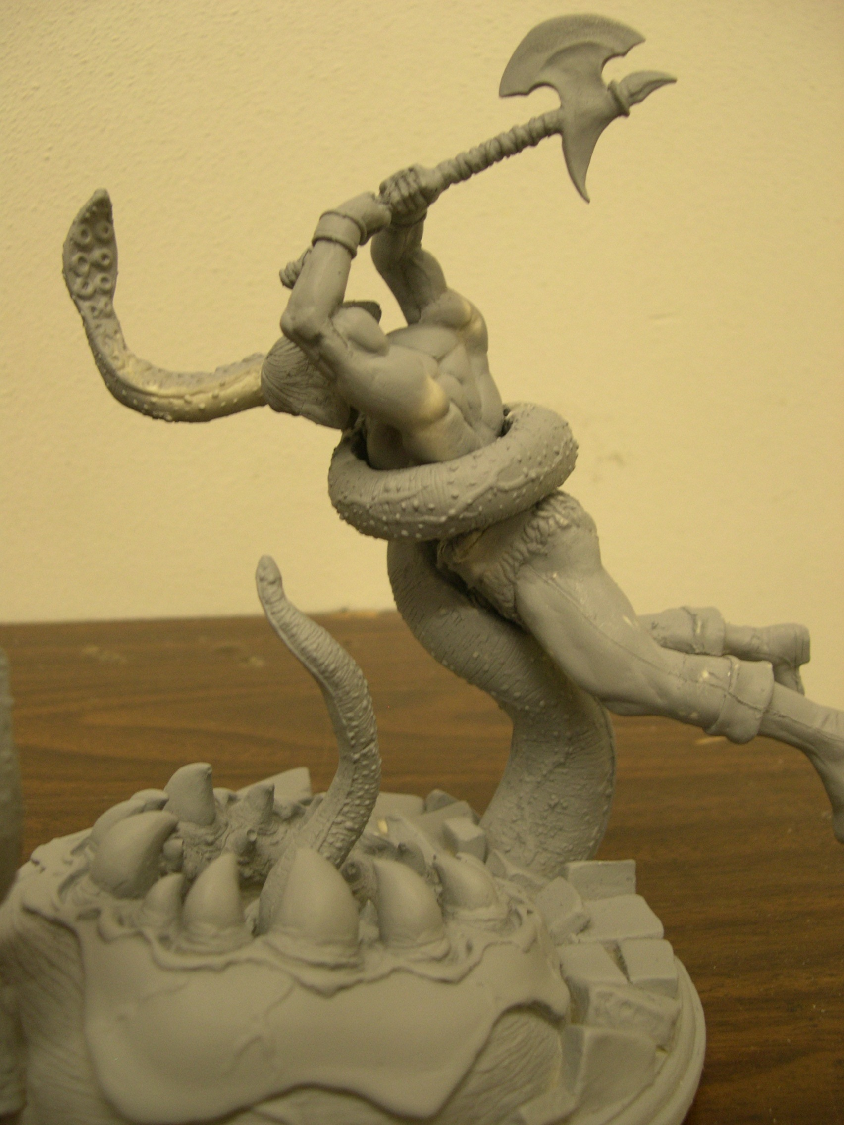 Crom Barbarian 1/12 Resin Assembly Model Kit
