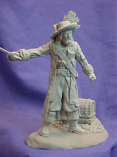 Undead Pirate 120mm Model Kit