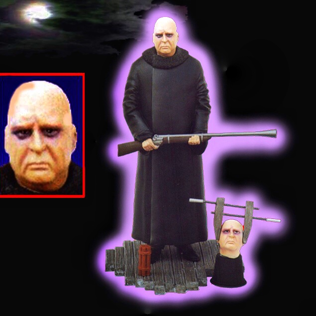 Addams Family Uncle Fester 1/6 Scale Resin Model Kit OOP