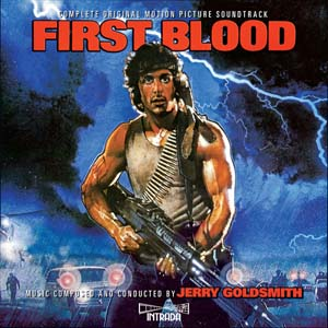 First Blood Soundtrack CD Jerry Goldsmith 2CD Set Complete