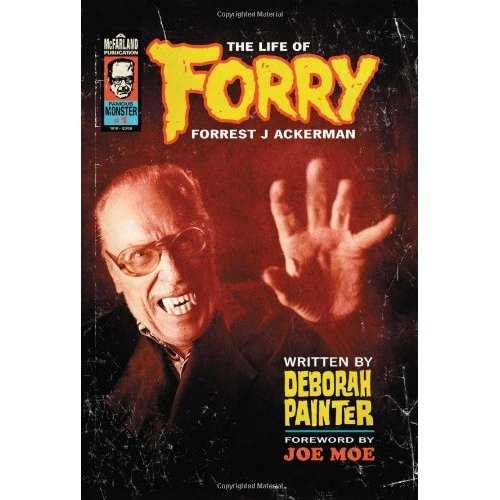 Life of Forrest J Ackerman Hardcover Book