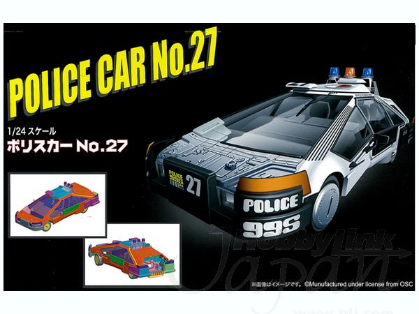 Blade Runner Police Car No. 27 1:24 Scale Model Kit
