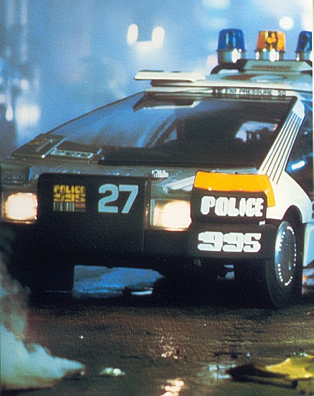 Blade Runner Police Car No. 27 1/24 Scale Model Kit by Fujima - Click Image to Close