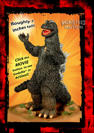 Godzilla 1968 Destroy All Monsters Battlezone Action Toy
