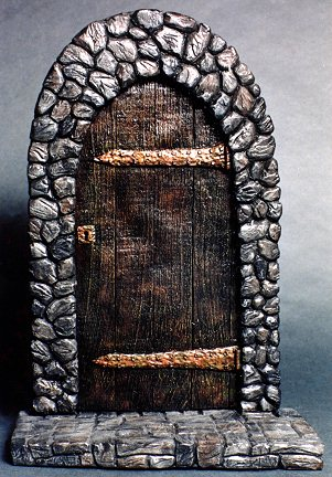 Gothic Door Base 1/6 Scale Model Kit