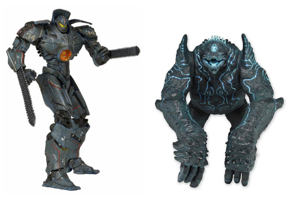 Pacific Rim Series 2 Figure Set Gipsy Danger & Leatherback
