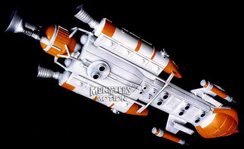 Space 1999 Hawk Spaceship 1/72 Scale Resin Model Kit