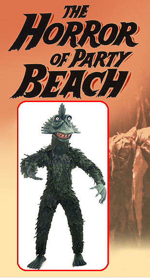 "Horror Of Party Beach 12"" Inch Premium Figure Limited Edition"