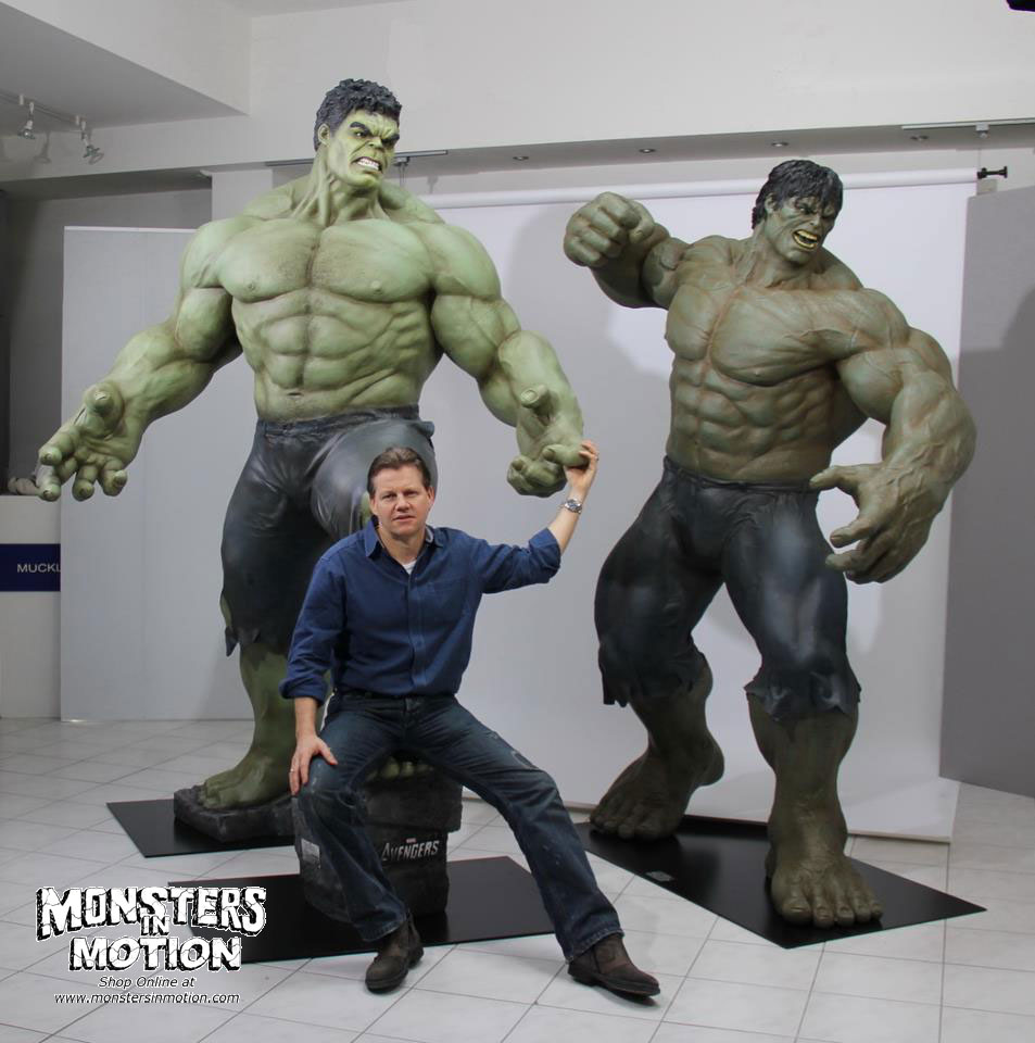 Hulk AVENGERS Life-Size Statue [211MC23] - $6,697.00 : Monsters in ...