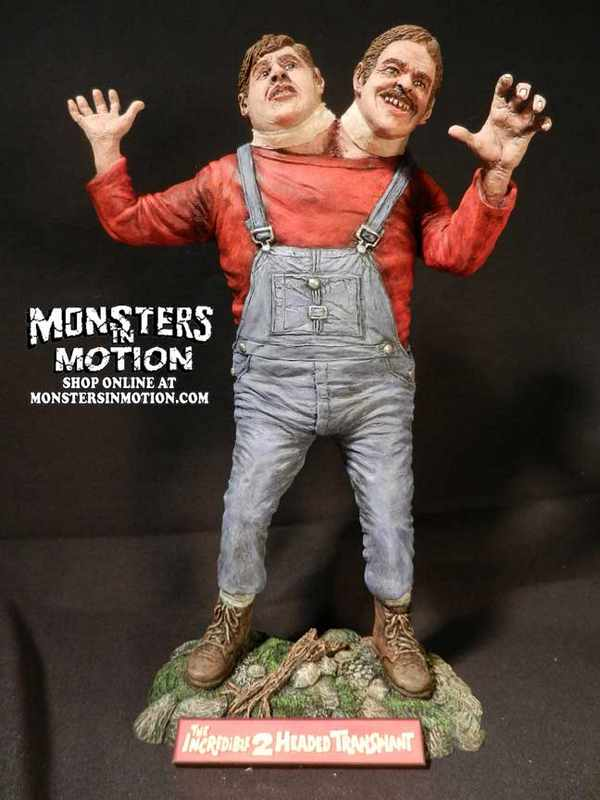 Thing With Two Heads 1/8 Scale B-Movie Resin Model Kit ...