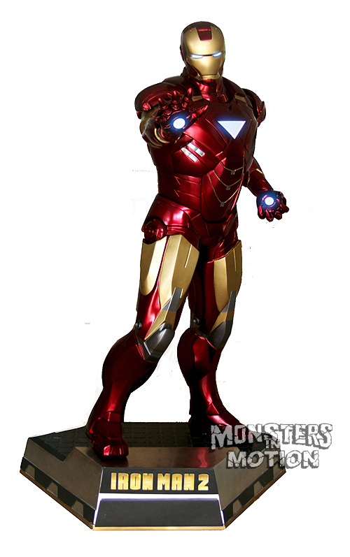 Iron Man 2 Life-Size Statue 1/1 Scale Over 7 Feet Tall
