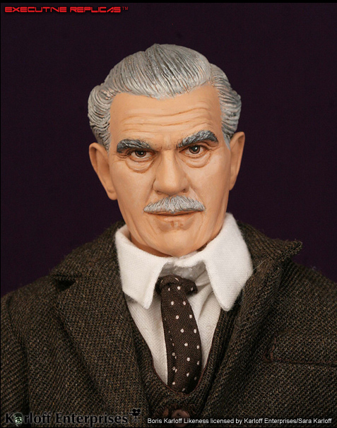 "Boris Karloff Icons of Horror & Sci-Fi Premium 12"" Figure"