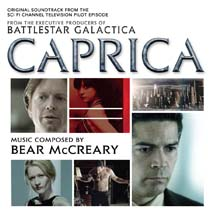 Caprica TV Series Soundtrack CD Bear McCreary