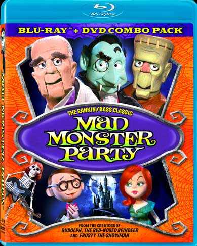 Mad Monster Party Blu-Ray - Click Image to Close