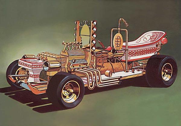 57 Chevy Bathtub Buggy SSP Plastic Model Kit Tom Daniels 1/24 Scale ...