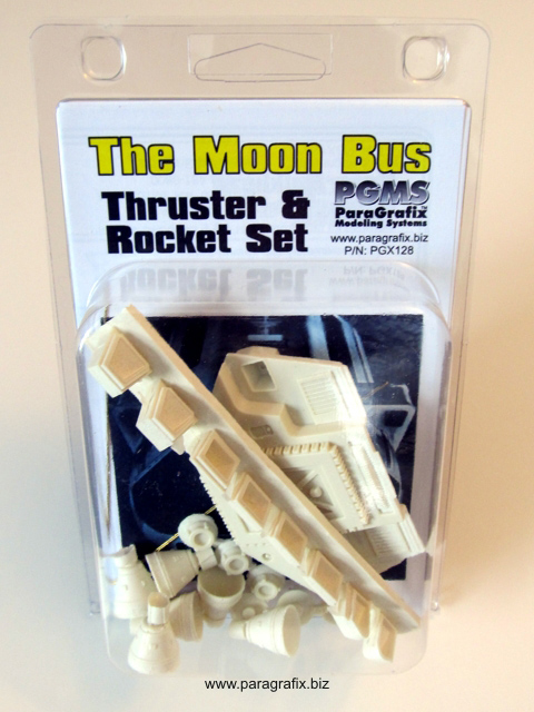 2001: A Space Odyssey AURORA Moon Bus Thruster Upgrade Model Kit