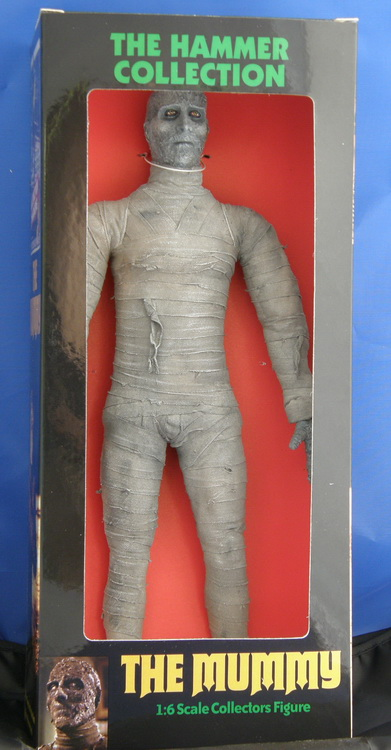 Mummy Christopher Lee 12 Inch Figure Hammer Films