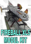 Fireball XL5 16 Inch Model Kit with Launch Ramp