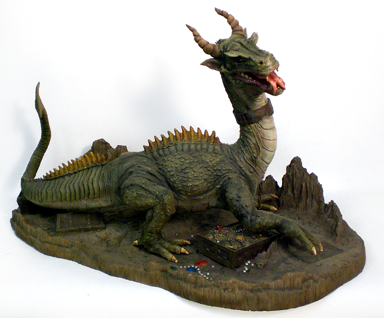 7th Voyage Of Sinbad Medieval Dragon Model Hobby Kit