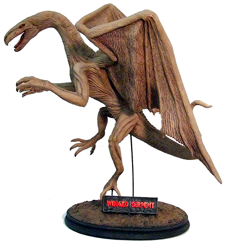 Q The Winged Serpent Model Resin Kit Dimensional Designs