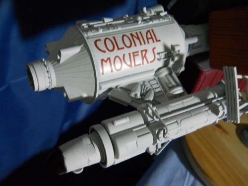 Battlestar Galactica 1978 Colonial Movers 4 Foot Long Studio Scale Model Kit
