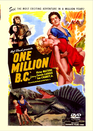 One Million B.C. 1940 DVD Hal Roach