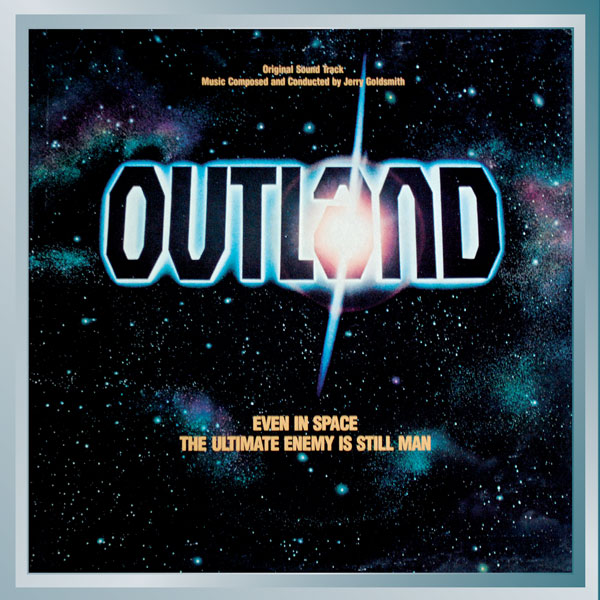 Outland Soundtrack CD Jerry Goldsmith 2CD Limited Edition